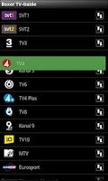 Screenshot of Boxer TV Guide SE