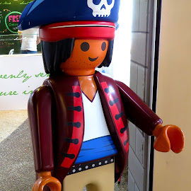 PLaymobil, Pirate Captain by Alan Chew - Artistic Objects Toys