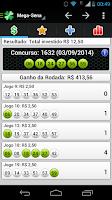 Screenshot of Loterias Mobile Mega da Virada