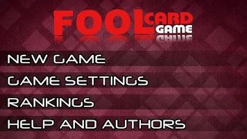 Screenshot of Russian Fool Card Game HD