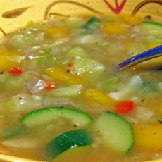 Fat Free Veggie Soup to Die For!