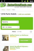 Screenshot of Hotel Search - Hotel Saver