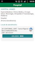 Screenshot of Guia Unimed-BH