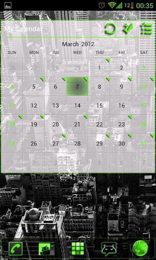 GOWidget Green ICS Light Free