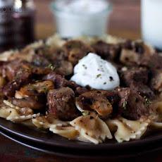 Slow Cooker Beef Stroganoff Recipe | Yummly