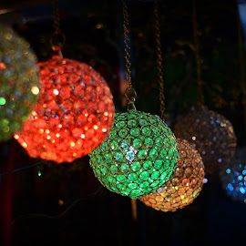 Glass Globes by Prasanta Das - Artistic Objects Glass ( colorful, glass, lamp shades, globe )