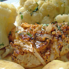 Algarve Oven-Baked Codfish With Cauliflower (Pescada Assada)