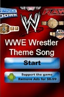 Screenshot of WWE Wrestler Theme Song Trivia