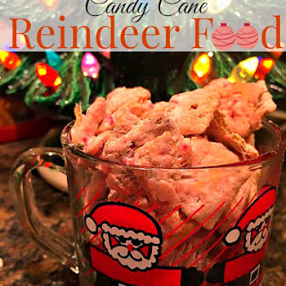Candy Cane Reindeer Food