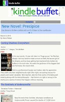 Screenshot of Free Kindle Books Daily Alert