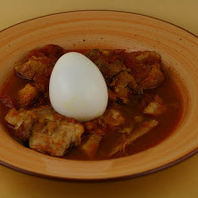 Ethiopian Chicken Stew (Doro Wat) Slow Cooker