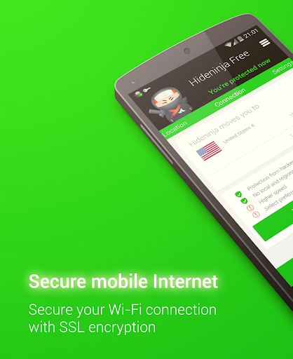 vpn for android screenshot