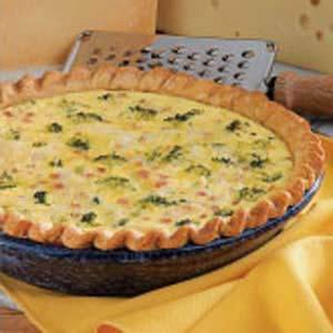 Ham and Broccoli Quiche Recept | Yummly
