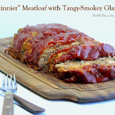 Skinnier Meatloaf with a Tangy-Smokey Glaze