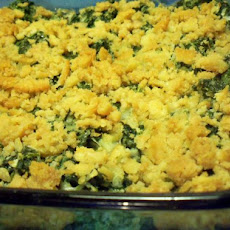 Lady Bird Johnson's Spinach Casserole