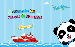 Screenshot of Les moyens de transport