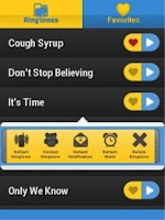 Screenshot of Free Glee Ringtones