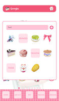 Screenshot of lovely i like you dodol theme