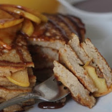 Caramel Apple Pancakes