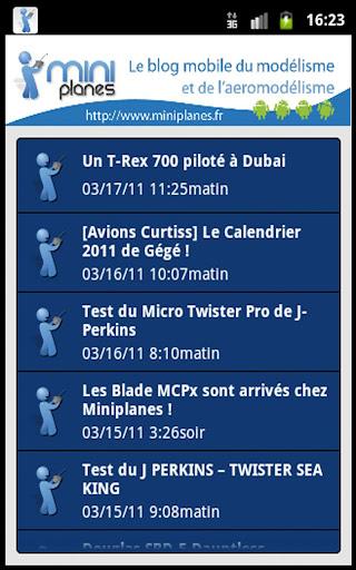 Blog Miniplanes.fr