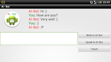 Screenshot of AI - Bot Lite