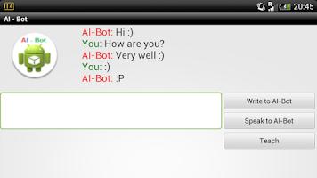 Screenshot of AI - Bot Lite