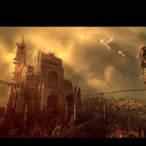 Steampunk Landscape LWP LOGO-APP點子