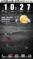 Screenshot of Zombies!!!! Live Wallpaper