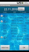 Screenshot of Swim a Mile Pro