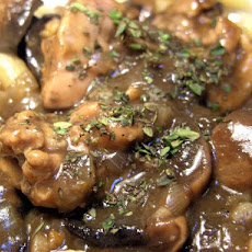 Chicken in a Riesling Sauce