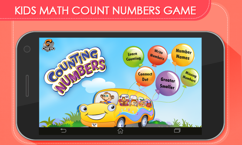 Kids Math Count Numbers Game Screenshot