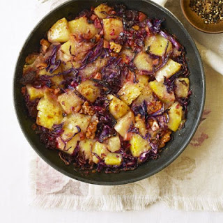 Red Cabbage & Potato Hash
