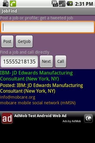 【免費生產應用App】JobFind-APP點子