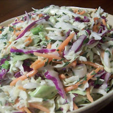 Red & Green Coleslaw