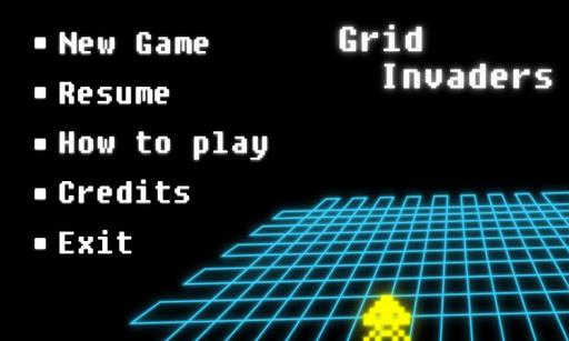 Grid Invaders