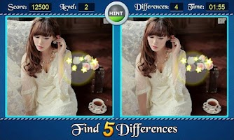 Screenshot of Find Five Differences