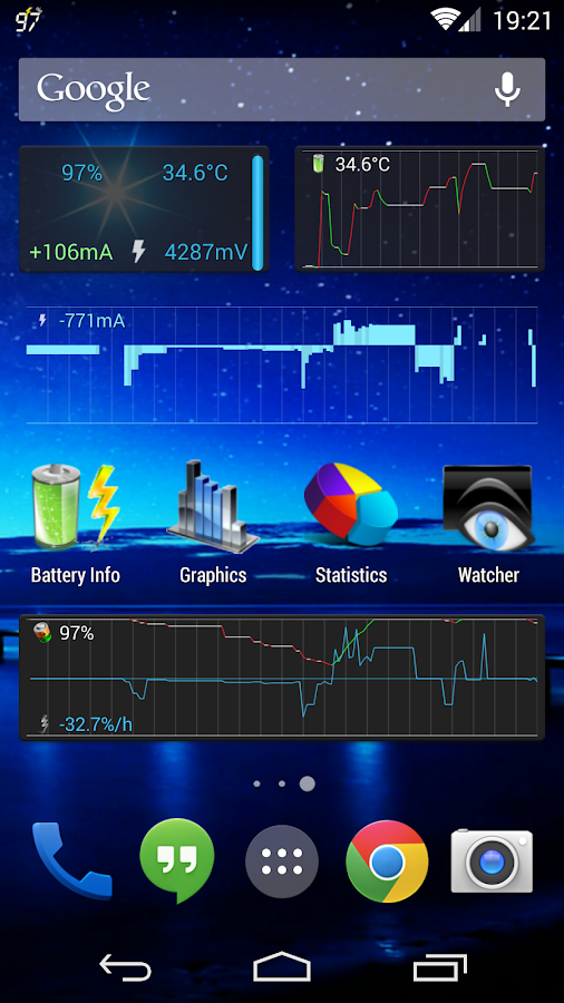 3C Battery Monitor Widget Pro Screenshot 0