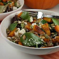Maple- Roasted Pumpkin Salad