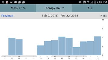Screenshot of SleepMapper