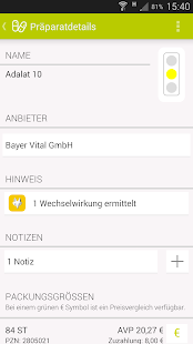 Arznei aktuell Screenshot