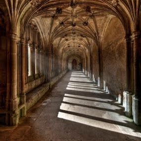 Lacock Cloisters by Nick Holland - Buildings & Architecture Other Interior