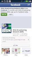 Screenshot of BBN Radio