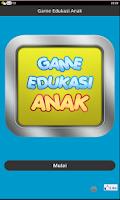 Screenshot of Game Edukasi Anak