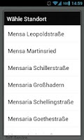 Screenshot of Mensa München