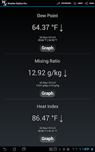 Weather Station Pro - screenshot