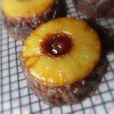 Pineapple Gingerbread Upside Down Cake