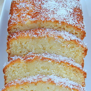 Moist Coconut Pound / Loaf Cake