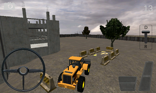 Bulldozer Parking Simulator - screenshot