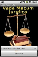 Screenshot of Vade Mecum Juridico Lite