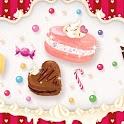 Sweets macaroon icon